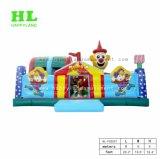 De leuke Opblaasbare Speelplaats van het Thema van het Circus van de Clown