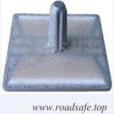 도로 반사체 묘안석 사려깊은 알루미늄 모래에 의하여 채워지는 도로 장식 못