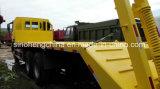 Camion basso HOWO 20000kg della base del veicolo del trasporto del macchinario edile