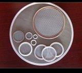 Acoplamiento micro del filtro del acero inoxidable 5 1 micrón 5 micrones acoplamiento de alambre de acero inoxidable de 10 micrones