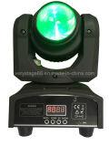 Doppeltes bewegliches Hauptbewegliches Hauptlicht des Gesichts-10W des Träger-LED des licht-4X10W RGBW der Wäsche-LED