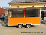La mayoría de la mano de Venta caliente Ideal empujar fuera de servicio de catering móvil Mini Carreta