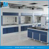 Capa das emanações de exaustão do armário de emanações do metal do equipamento de laboratório