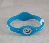 Bracelets chauds de silicones d'impression de bonne qualité de vente de sport de club fait sur commande du football