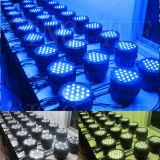 屋外の防水DMX軽い54X3w LEDの同価はできる