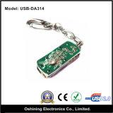 USB Disk del metallo con Keychain (USB-DA314)