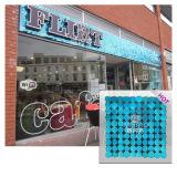 Tuile en plastique colorée mobile de mur de l'air DIY