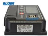 Controlador solar elevado da carga da eficiência 60V 20A de Suoer com CE&RoHS (ST-W6020)