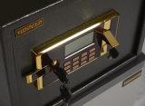 Kleiner elektronischer an der Wand befestigter sicherer Kasten