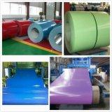 Material de construção de telhados PPGI médios a quente de aço galvanizado bobinas PPGI PPGI Cor