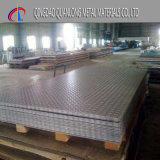 aluminium Geruite Plaat 1050 3003 5052 voor Dek