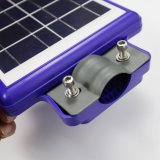 Outdoor Luminaria intégré toutes dans un jardin de la rue lumière solaire LED avec capteur de mouvement IRP