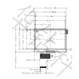 4.3 Bildschirm des Zoll Innolux Panel-TFT LCD für industrielles Steuergerät, Ka-TFT043it002-C