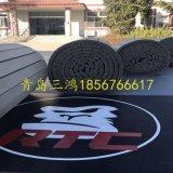 Couvre-tapis denteux bon marché Flexi d'arts martiaux d'étage de Bjj de couvre-tapis de Tatami d'Aikido roulé vers le haut des couvre-tapis de lutte de Cheerleading