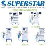 De medische Machine van de Anesthesie van de Apparatuur met 2 Verstuivers