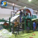 Toiletten-Seidenpapier-Produktionszweig 1092 Altpapier, das Maschinen-Gerät aufbereitet