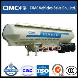 Cimc 3 차축 50ton 알제리아를 위한 대량 시멘트 유조선