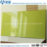 El mármol imitado alto lustre hizo frente al MDF para los muebles/la cabina de cocina