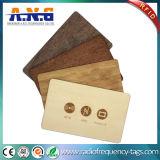 木ビジネスNFCカード/ブランクカードを切る環境に優しいカスタム旧式な円
