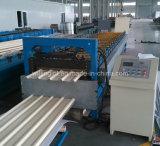 機械を形作る台形鋼板ロール