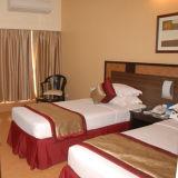 安いホテルの麻布は単一のホテルの寝具及びキルトカバーを供給する