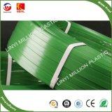 het Verbinden van het Huisdier van 12mm Groene Riem, Huisdier die Band, de Verpakking Stap, de Riem van het Huisdier van het Huisdier vastbinden