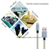 Het nylon vlechtte 8pin de Kabel van de Lader USB van Sync van de Gegevens van de Bliksem voor iPhone