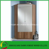 Melamin-Tür-moderne Ecke MDF/Pb/Chipboard Cloest/Garderobe