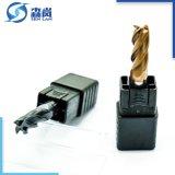 Personalizar HRC60 sólida herramienta de corte de carburo para fresadoras cara