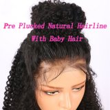Remy Lace Front brésilien Afro Kinky Curly Cheveux humains perruques