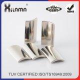 Сертификацию TS16949 Strong Arc NdFeB неодимовый магнит электродвигателя