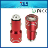 Sicurezza doppia 5V, sicurezza Hammer Stainless del USB Metal del USB Car Charger Universal 2.1A di 3.1A Two Port