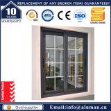 Bañera de doble acristalamiento de aluminio ventana deslizante