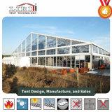 grande tente extérieure de mariage de PVC d'aluminium de 20m avec le flanc clair