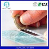Codice a barre stampato Dod UV & scheda seriale del PVC della graffiatura di no.