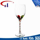 Commerce de gros de la Verrerie Verre en cristal clair Goblet (CHG8104)