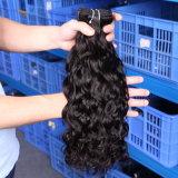 Venda por grosso de extensão de cabelo humano Virgem Cabelo Onda natural da Birmânia
