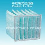 De Filter van de Zak van de Airconditioning van de Efficiency van 65% F6