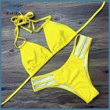 2018 neuer reizvoller Spitzenbikini-Frauen-Badeanzuggesetzter Beachwear