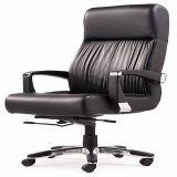 Silla de cuero de la oficina de la silla de la tarea del eslabón giratorio para los muebles
