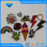 Custom эпоксидной Rainbow металлической эмали булавка на заводе
