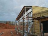 Vorfabriziertes helles Stahlkonstruktion-Bratrost-Haus