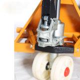 Ladeplatten-manueller hydraulischer Gabelstapler der Materialtransport-Hilfsmittel-1t kurz