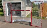 Цель хоккея складывая с задним упором и целями