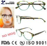Pagina popolare 2019 degli occhiali delle signore dell'acetato di colore del progettista dell'Italia