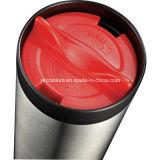 Double paroi en acier inoxydable tasse à café droites