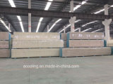 Edelstahl-Haut PU-Isolierungs-Panel für das Kühlraum-Dach/die Wand