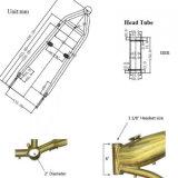 [غت-ا] غاز إطار [و/فول] دبابة [2.4ل]
