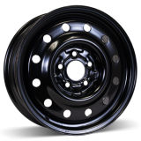 (5-114.3) черная оправа колеса зимы 17X7