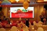 Alto schermo di visualizzazione dell'interno del LED di definizione P4 per gli eventi della fase, congresso, esposizione dell'Expo